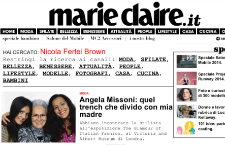Mobili Bagno Marie Claire.Meeting Missoni 4 Marie Claire Design Dna Three Woman Design An