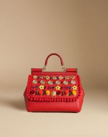 d and g red bag